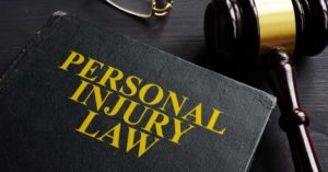 Law book on the table of a Decatur IN personal injury lawyer.