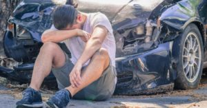 Man feeling devastated after car accident in Decatur Indiana.